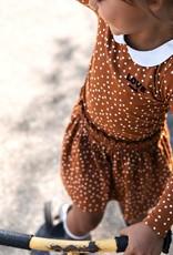 Looxs Looxs 2031-7821-440 jurk caramel W20G
