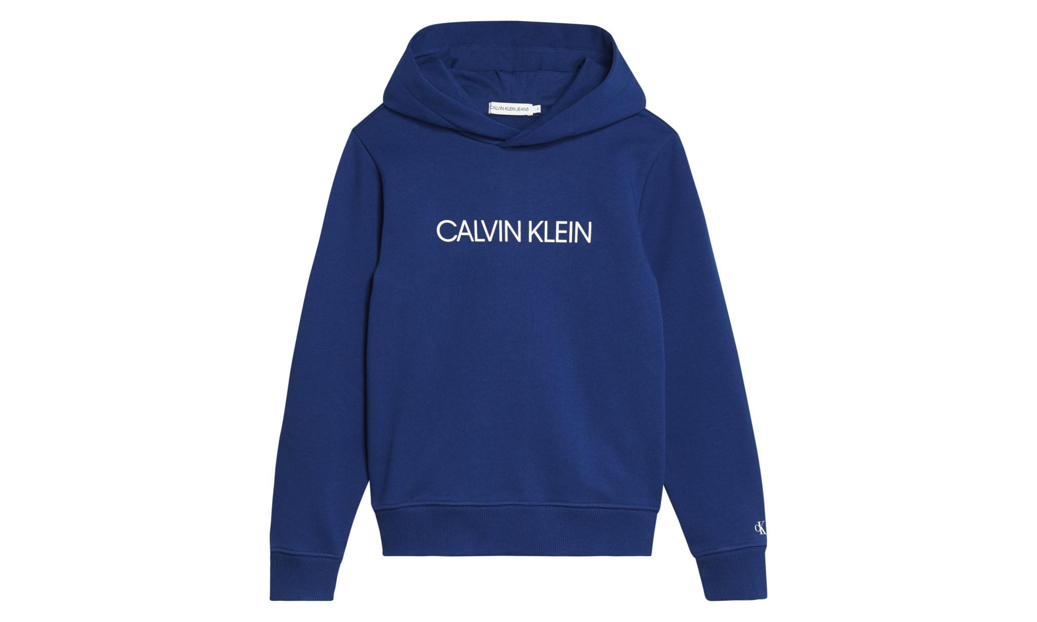 Calvin klein Calvin Klein Hoodie Naval Blue IU0IU00163 S20G
