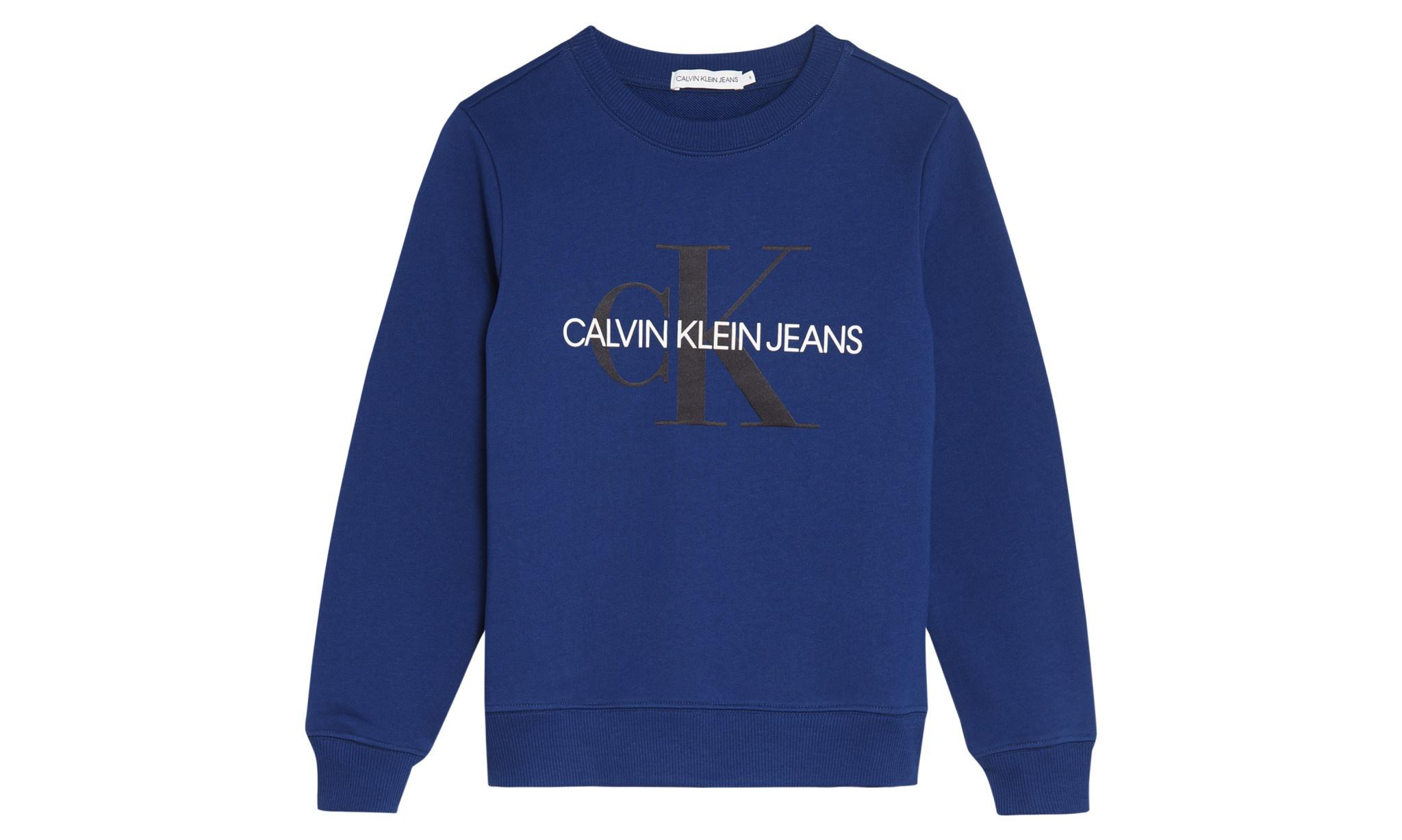 Calvin klein Calvin Klein Sweatshirt Naval Blue IU0IU00069 S20G