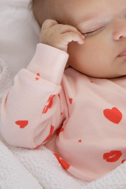 Feetje Feetje Pyjama 505.00047 Love/lesley  56/86