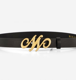 Nik & Nik Nik&Nik G 9-732 2101NN Buckle Belt Belt Black W20G