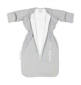 Puckababy Puckababy Bag Newborn 6maanden 70cm grey stripe