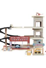 Little Dutch Little Dutch houten treinbaanuitbreiding garage
