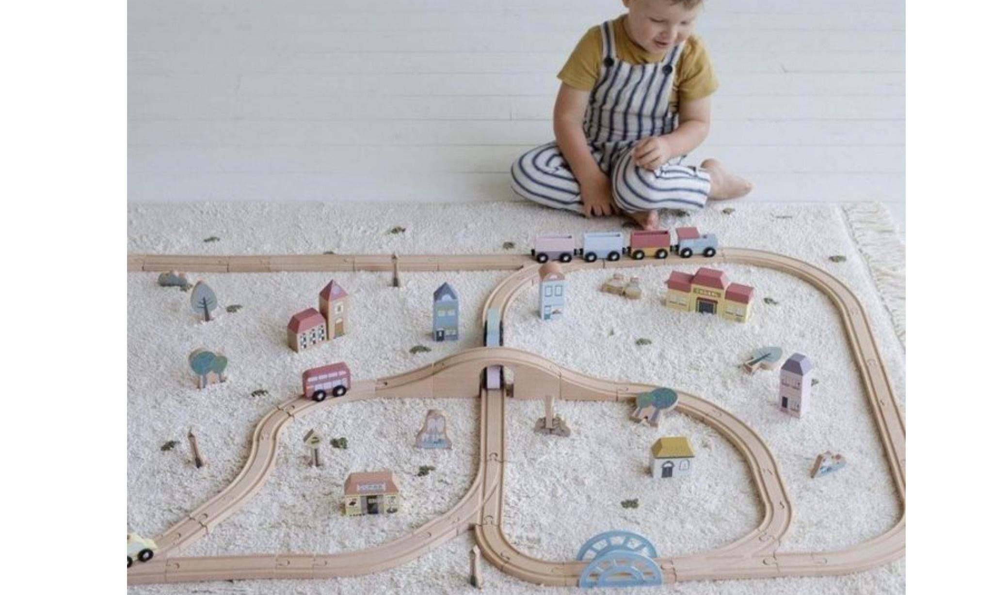 Little Dutch Little Dutch treinbaan xxl - starterkit