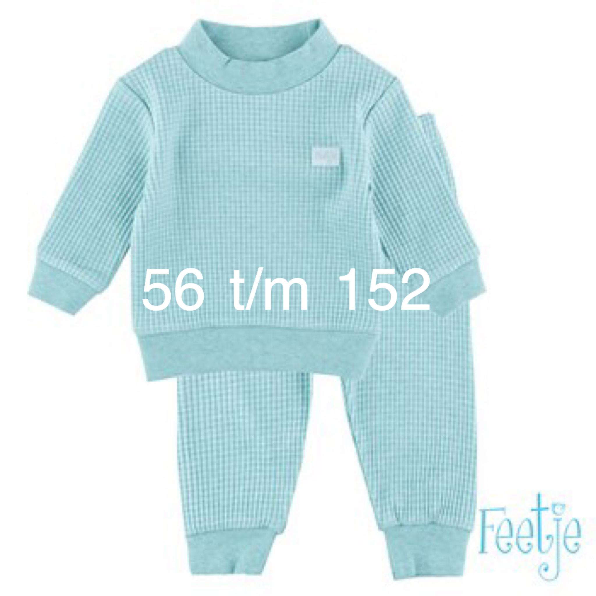 Feetje Feetje Pyjama Mint melange 305.533