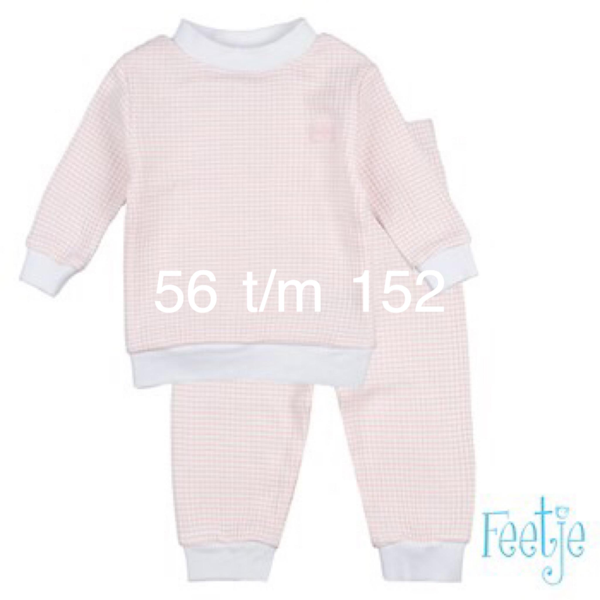 Feetje Feetje Pyjama 305.532 salmon
