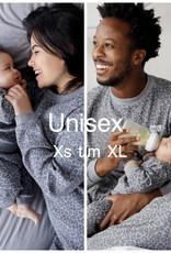 Feetje Feetje Family pyjama unisex Antraciet panter fashion Edition