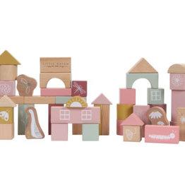 Little Dutch Little Dutch houten bouwblokken pink