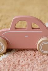 Little Dutch Little Dutch houten auto pink