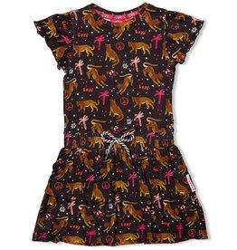 Jubel Jubel 914.00299 jurk antraciet