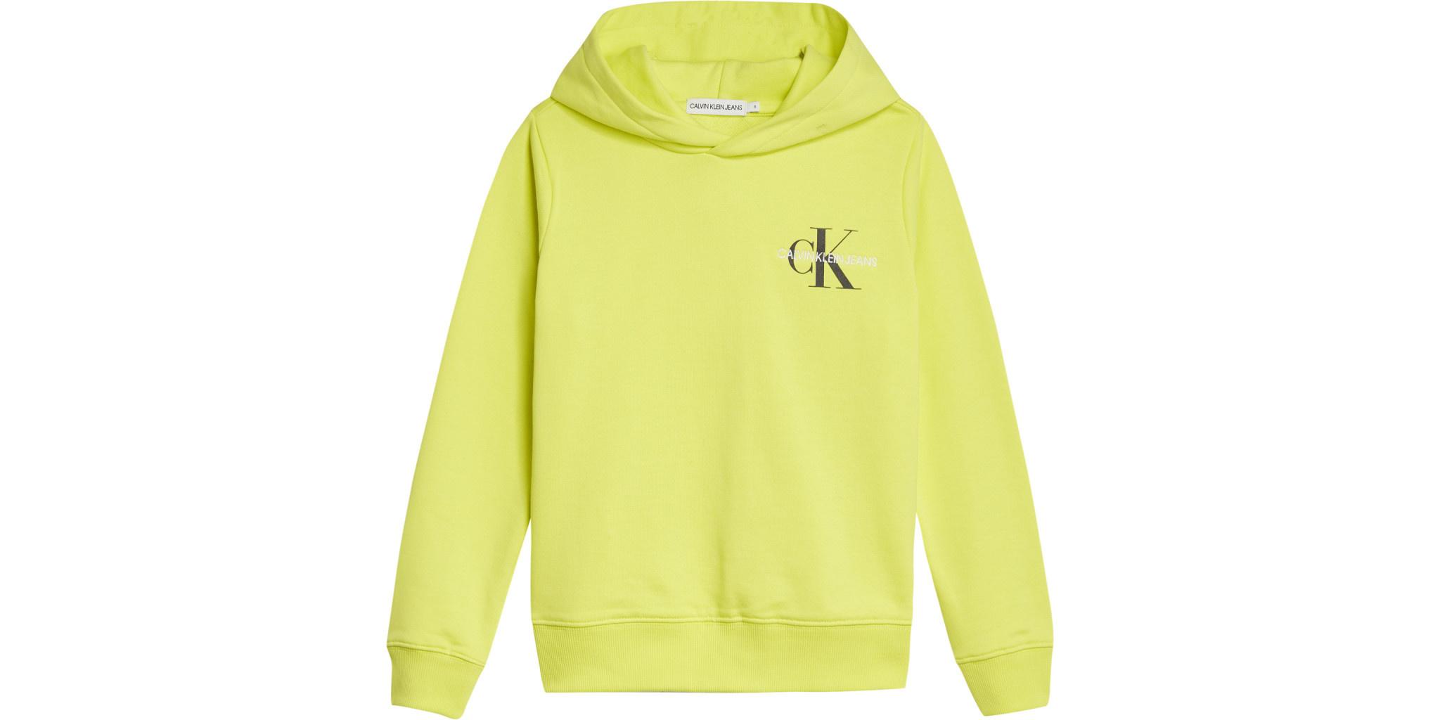 Calvin klein Calvin Klein hoodie Yelow Lime IU0IU00164 Z21B