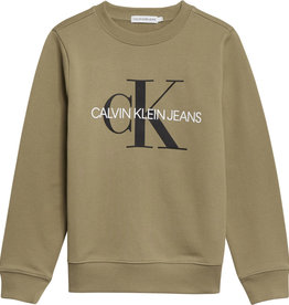 Calvin klein Calvin Klein trui Olive Khaki IU0IU00069 Z21B