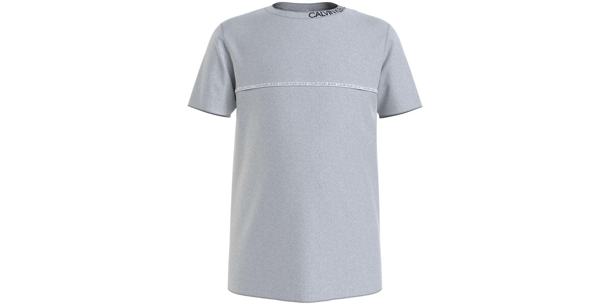 Calvin klein Calvin Klein Shirt Light Grey Heather IB0IB00695 Z21B