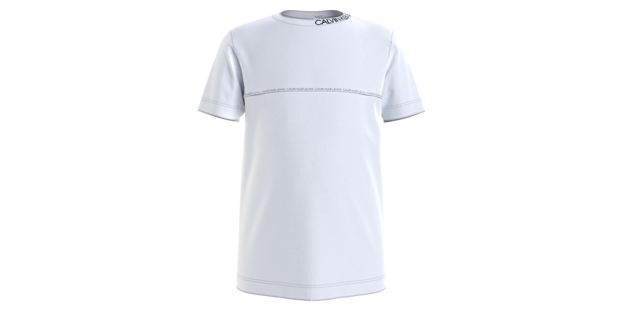 Calvin klein Calvin Klein Shirt Bright White IB0IB00695 Z21B