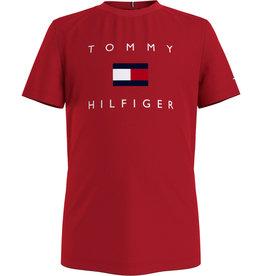 Tommy Hilfiger Tommy Hilfiger Shirt Deep Crimson KB0KB06523 S21B