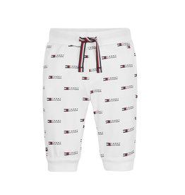 Tommy Hilfiger 123 Tommy Hilfiger KN0KN01286 Sweatpants White S21U