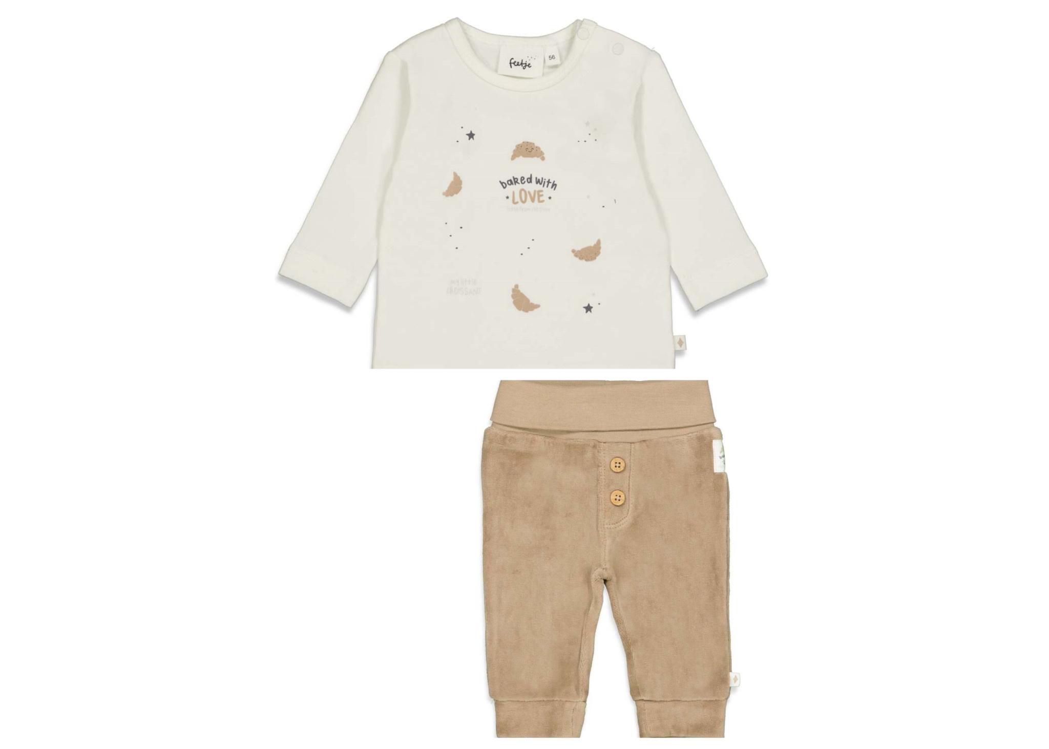 Feetje Feetje 522.01658  shirtje+broekje  W21U