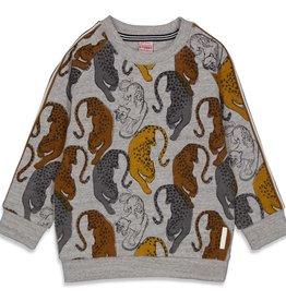 Sturdy Sturdy 716.00443 W21 Sweater AOP Grijs Melange