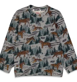 Sturdy Sturdy 716.00463 W21 Sweater AOP Grijs Melange