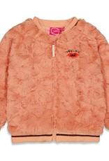 Jubel Jubel 913.00133 W21 Teddy Vest Roze