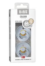 BIBS BIBS 2 pack speen Baby blue/Baby blue