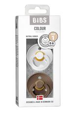 BIBS BIBS 2 pack speen White/Dark Oak