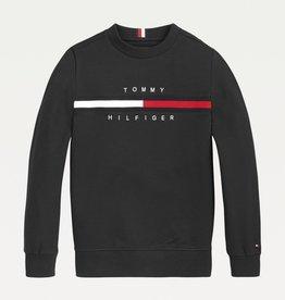Tommy Hilfiger Tommy Hilfiger Sweatshirt Black KB0KB06568BDS W22B