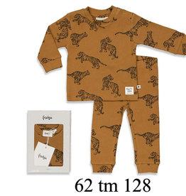 Feetje Feetje 505.00054 Pyjama Tijger Camel