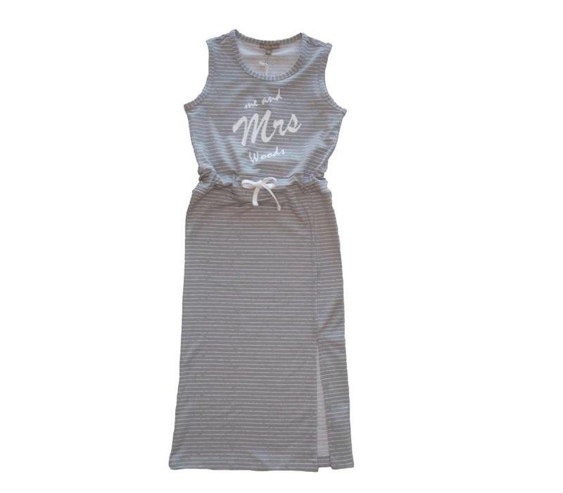 Mrs. Woods - jurk grijs