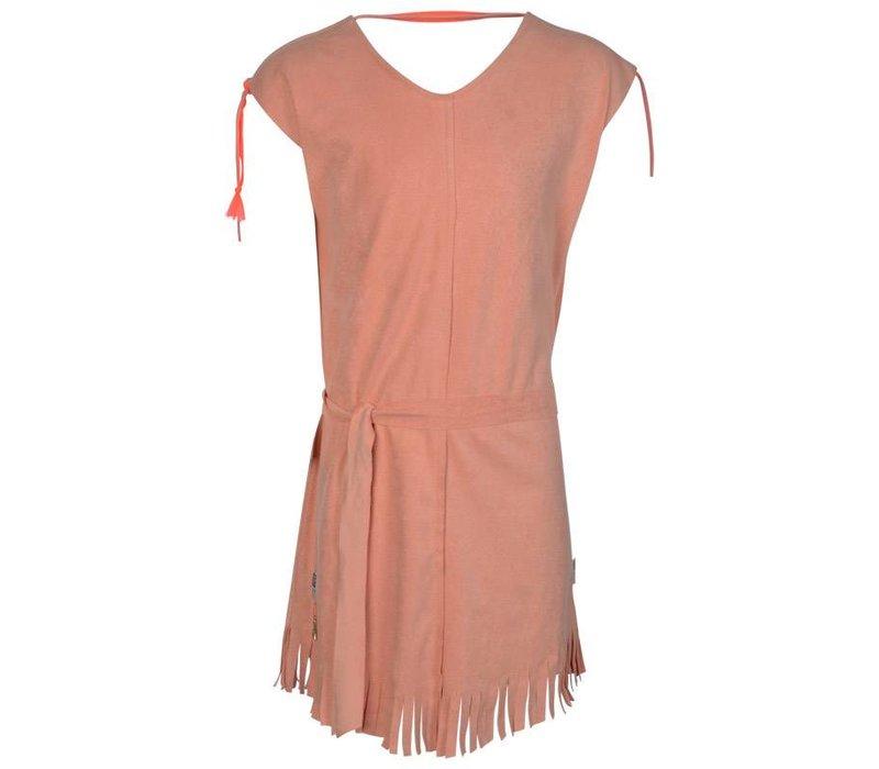 Kie Stone - jurk coral 4900