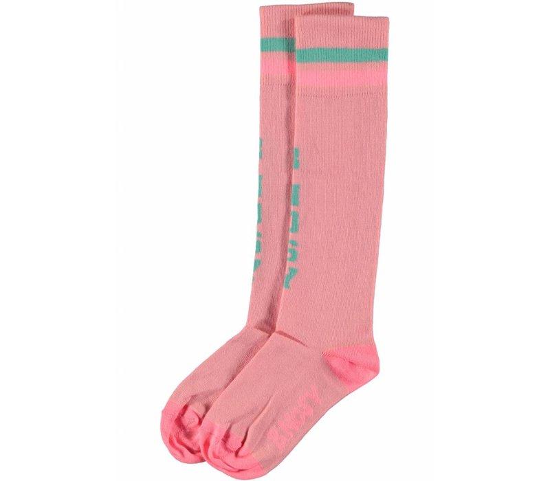 B.Nosy - sokken bunny pink 802-5902