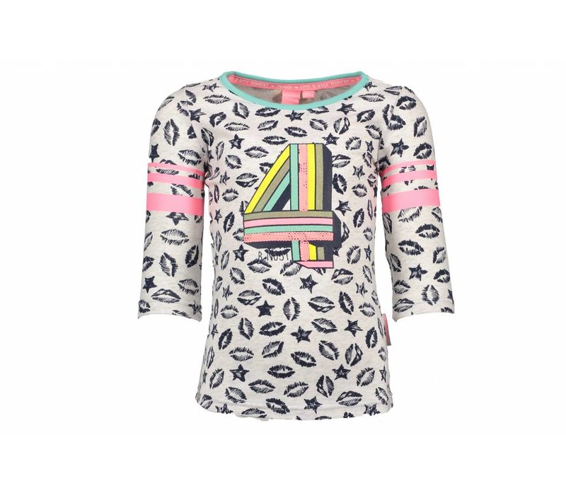 B.Nosy - shirt 4 ecru 802-5401