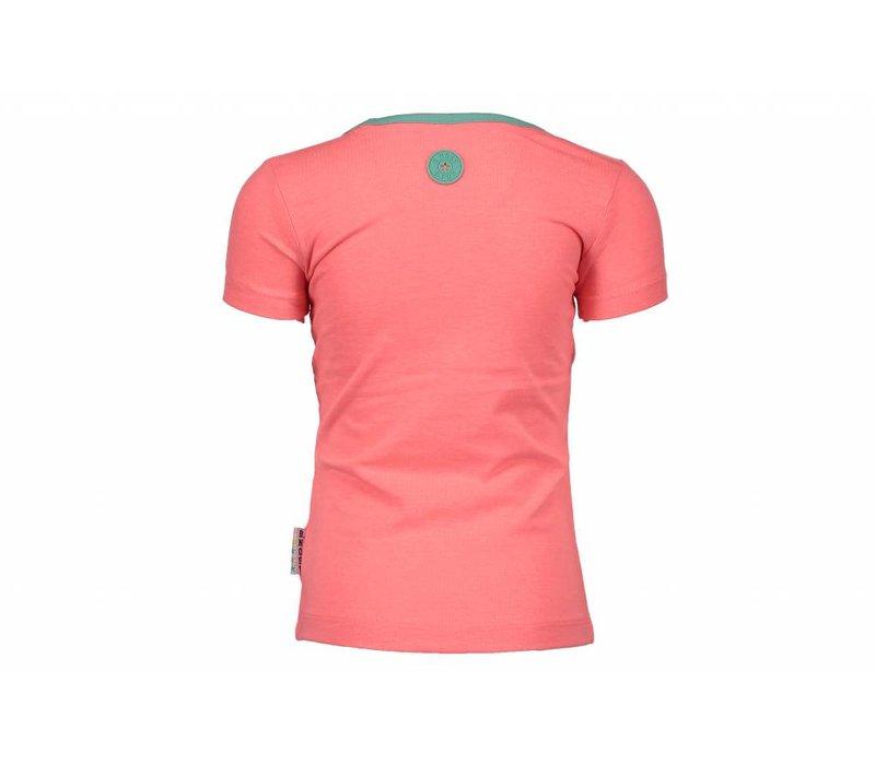 B.Nosy - shirt applicatie tutti frutti 802-5410