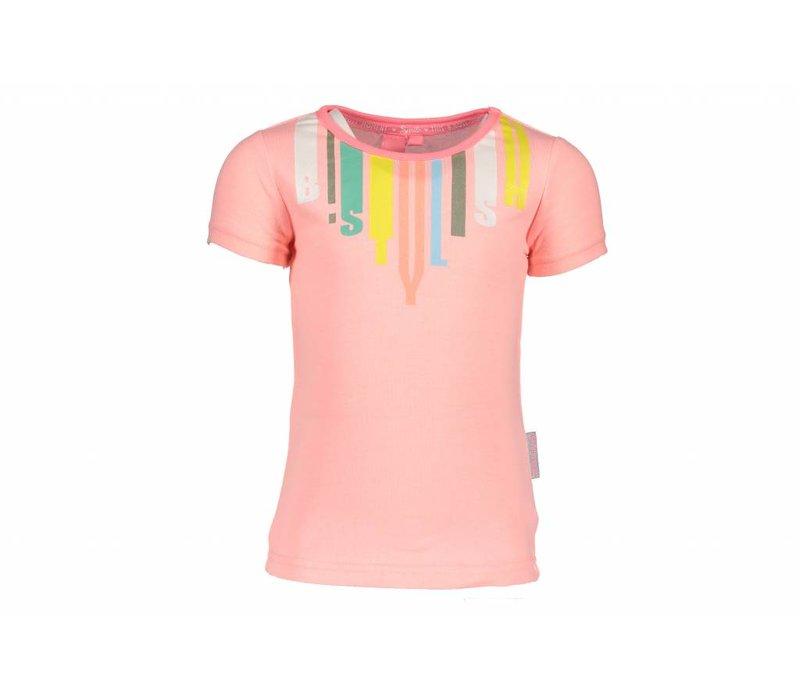 B.Nosy - shirt b.stylish bunny pink 802-5423