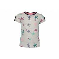 B.Nosy - shirt seahorse ecru 802-5425