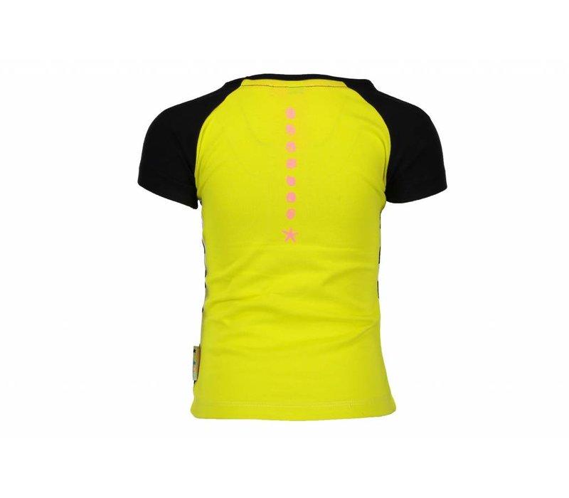 B.Nosy - shirt yellow black 802-5427