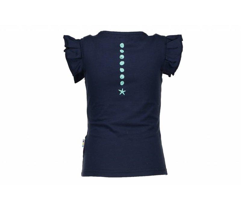 B.Nosy - shirt rope art blueberyy 802-5430