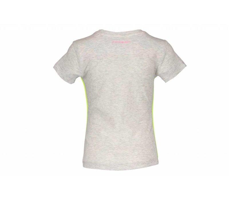 Kidz Art - shirt confetti grey 801-5410