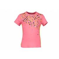 Kidz Art - shirt confetti neon red 801-5412
