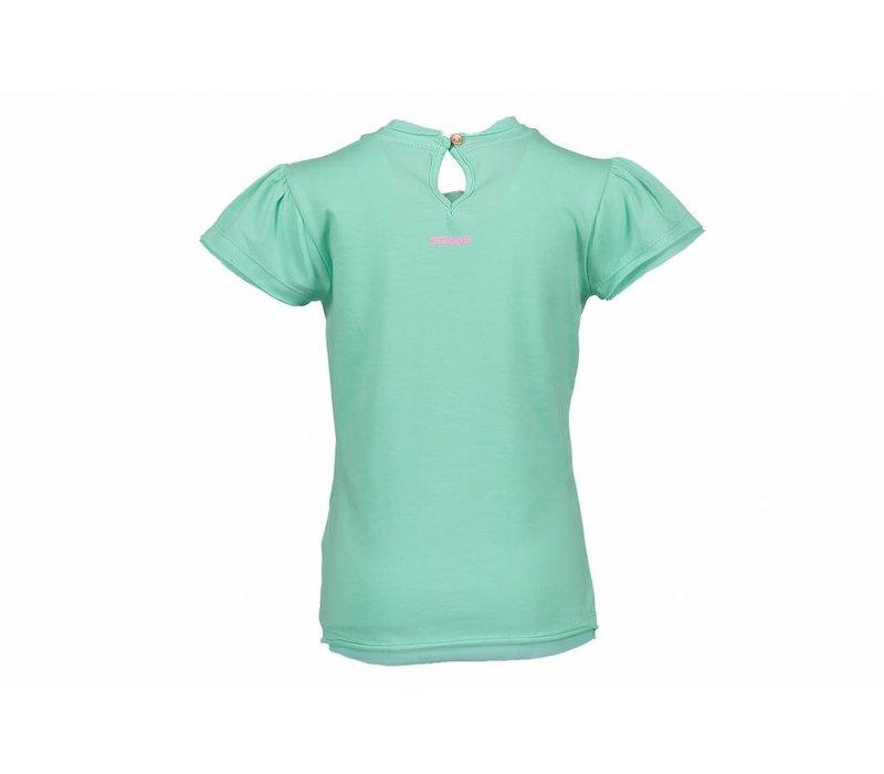Kidz Art - shirt zebra soft green 801-5416