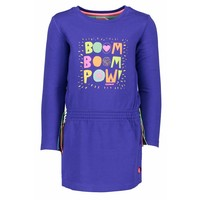 Kidz Art - jurk dark blue boom pow 801-5841