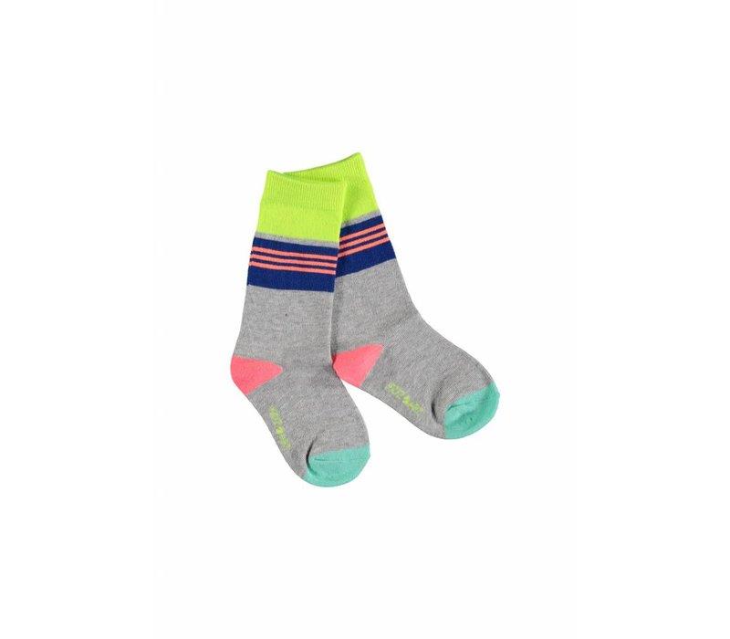 Kidz Art - sokken grijs 801-5939
