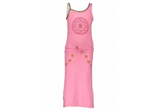 KIDZ ART Kidz Art - jurk maxi soft pink 802-5882