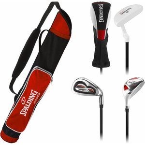 Spalding Golf Junior set Red (7-10 years)