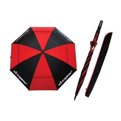 """Clicgear paraplu, zwart 68"""" dubbel laags"""