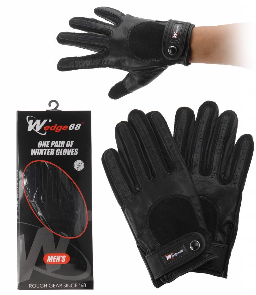 Wedge 68 Men's winter glove, leather -