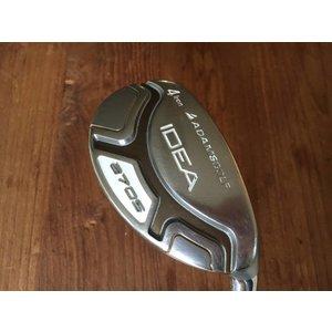 Adams Golf USED Idea A7 OS hybrid - # 4 - ladies flex - excl headcover
