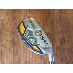 Adams Golf USED Idea A3 Pro gold hybrid - 18 * - stiff flex - excl headcover