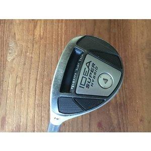 Adams Golf USED LEFT HANDED Super hybrid - # 3 - 19 * - stiff flex - excl headcover
