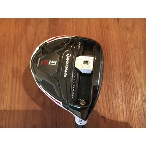 TaylorMade R15 used fairwaywood - # 3 - stiff flex - midsize grip - excl headcover
